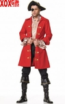 Mens Pirate Costume!  Look Like The Captain, The Pirate With Spirit! LA 83126