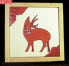 Deer Hand Painted Decorative Tile Deer
