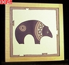 Bear Hand Painted Decorative Tile Bear