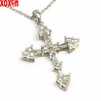 Diamond Cross Pendant J120628