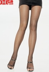 Plus Size Nylon Fishnet Pantyhose LA 9001Q