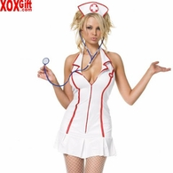 Plus Size Head Nurse Costume LA 83050X