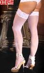 Womens Lace Top Thigh Highs EM 1703