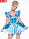 Fairy Tale Princess Tea Party Mini Dress Adult Fantasy Costume LA 8981