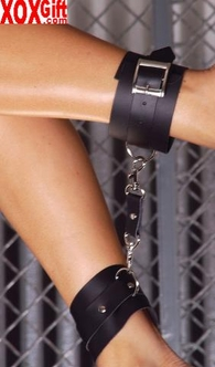 Leather wrist restraints EM L9159