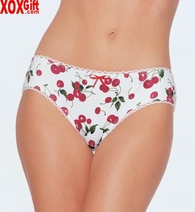 Cherry Womens Print Brief Panty LA 2504