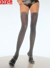 Lurex Opaque Thigh High LA 6280