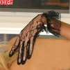 Wrist length lace gloves With ruffles EM 1260