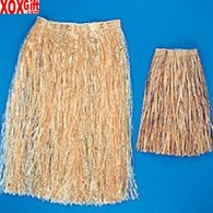 Brown Adult Hula Skirt Artificial OT25-34