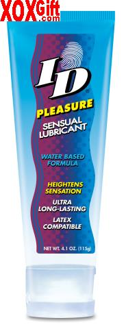 ID Pleasure 4.1 oz Travel Tube Water Based Personal Lubricant WL WL-PLT-04