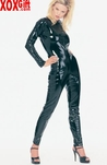 Vinyl Long Sleeves Catsuit LA V6000