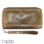 Panther Clutch in Metallic Leather
