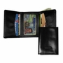 Leather Hybrid Tri-fold Wallet
