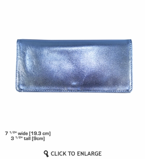 Executive Wallet in Metallic Leather