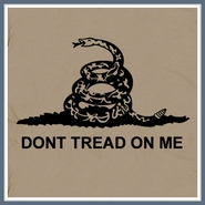 Don't Tread On Me T Shirt Libertarian Tea Party Marines Tee Shirt