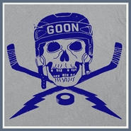 Hockey Goon T Shirt Bruins Penguins Devils Flyers Jersey Tee