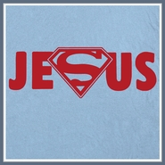 Jesus Superman Logo T Shirt Christian Rock Cool Tee Shirts