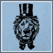 Lion Top Hat Funny T Shirt Awesome Cat Graphic Tee Shirts