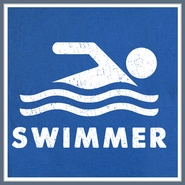 Swimmer Swimming T Shirt Cool Swim Olympic Team Logo Tee