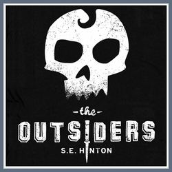 The Outsiders T Shirt S.E. Hinton Vintage Retro 80s Tee