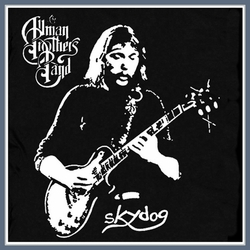 The Allman Brothers T Shirt Skydog Rock Concert Tour Tee