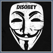 Guy Fawkes T Shirt Disobey Tees V For Vendetta Tshirt