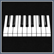 Piano T Shirt Keyboard Keytar Keys Tee