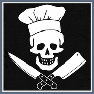 Chef T Shirt Grill Master Sergeant Apron Pirate Skull Tee