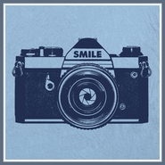Camera T Shirt Photographer Paparazzi Photography Funny Smile Tee
