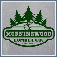 Morningwood Lumber T Shirt Company Funny Tee