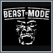 Beast Mode T Shirt Sports Gym Gorilla Tees