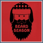 Beard T Shirt It's Beard Season Funny Humor Moustache Tee