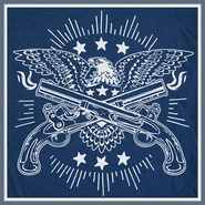 Eagle With Guns T Shirt Cool Liberty Graphic Tee
