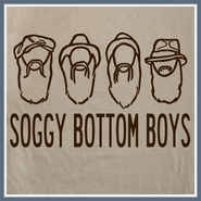 Soggy Bottom Boys T Shirt Folk Music Band Movie Tee