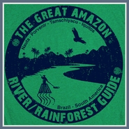 Amazon River T Shirt Kayak Canoe Guide Brazil Tee