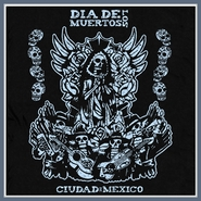 Dia De Los Muertos Day of the Dead T Shirt Mexico Horror Tee