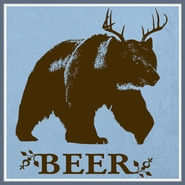 Bear Deer Beer T Shirt Funny Tees