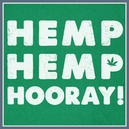 Hemp Hemp Hooray T Shirt Pot Weed Marijuana 420 Tee