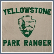 Yellowstone Park T Shirt Ranger Hiking Camping Vintage Tee