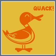 Duck Quack Tee Shirt Humor Retro Funny Cool T Shirt