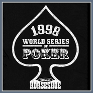 World Series of Poker T Shirt WSOP Vintage Las Vegas Tee