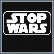 Stop Wars T Shirt Anti War Peace Love Star Wars Tee Shirt