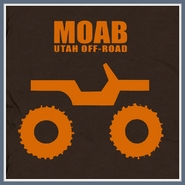 Moab Jeep T Shirt 4x4 Mudding Rock Climbing Tee