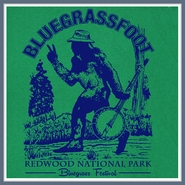 Bluegrass T Shirt Bigfoot Tshirts Banjo Folk Rock Tees