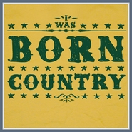 I was Born Country T Shirt Band Zac Brown John Deere Tee