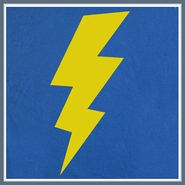 Lightening Bolt T Shirt Geek Nerd Big Bang Theory Tee