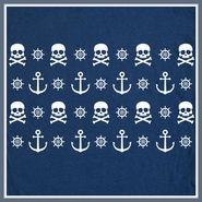 Nautical T Shirt Anchor Pirate Sailing Tee Shirt