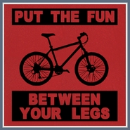 Bicycle T Shirt Put The Fun Between Your Legs Tee