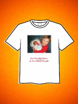 BIG SISTER PHOTO SHIRT