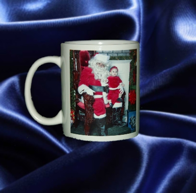 HOLIDAY PHOTO MUG - CERAMIC